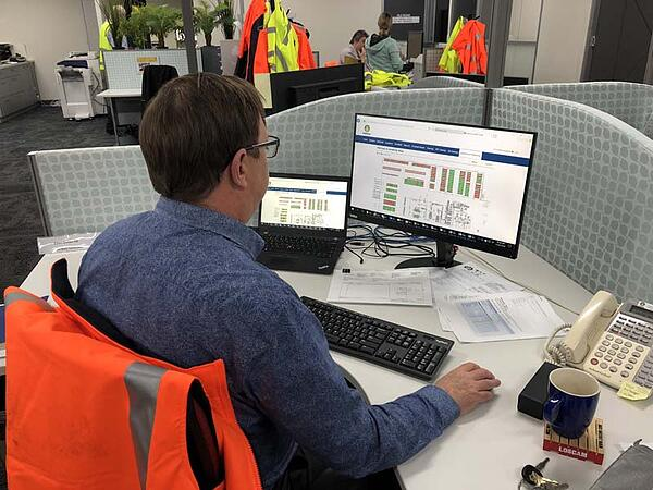automated guided vehicle tracking and performance